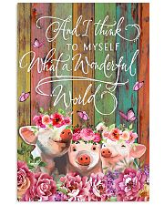 LIMITED EDITION - FARMER PIG LOVERS - 80299P 11x17 Poster front