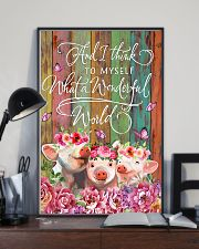 LIMITED EDITION - FARMER PIG LOVERS - 80299P 11x17 Poster lifestyle-poster-2