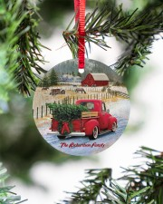 LIMITED EDITION - RED TRUCK - 10966TU Circle ornament - single (porcelain) aos-circle-ornament-single-porcelain-lifestyles-07