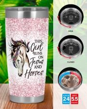 LIMITED EDITION - HORSES AND JESUS - 10839TU 20oz Tumbler aos-20oz-tumbler-lifestyle-front-46