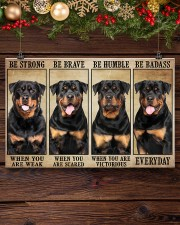 LIMITED EDITION - DOG ROTTWEILER 11013A 17x11 Poster aos-poster-landscape-17x11-lifestyle-27