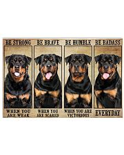 LIMITED EDITION - DOG ROTTWEILER 11013A 17x11 Poster front