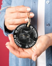 LIMITED EDITION - CAT LOVERS 10903A Circle ornament - single (porcelain) aos-circle-ornament-single-porcelain-lifestyles-01