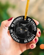 LIMITED EDITION - CAT LOVERS 10903A Circle ornament - single (porcelain) aos-circle-ornament-single-porcelain-lifestyles-09