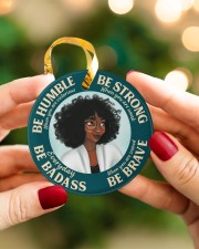 LIMITED EDITION - BE STRONG - 11046TU Circle ornament - single (porcelain) aos-circle-ornament-single-porcelain-lifestyles-08