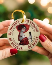 LIMITED EDITION - BE STRONG - 80312TU Circle ornament - single (porcelain) aos-circle-ornament-single-porcelain-lifestyles-08