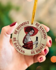 LIMITED EDITION - BE STRONG - 80312TU Circle ornament - single (porcelain) aos-circle-ornament-single-porcelain-lifestyles-09