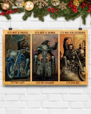 LIMITED EDITION - MOTORCYCLE LOVERS 11083A 17x11 Poster aos-poster-landscape-17x11-lifestyle-28