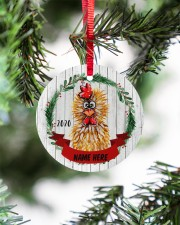 LIMITED EDITION - FARMER FUNNY CHICKEN - 80214P Circle ornament - single (wood) aos-circle-ornament-single-wood-lifestyles-07