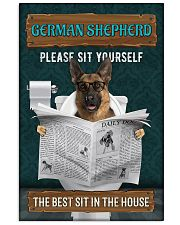 LIMITED EDITION - DOG GERMAN SHEPHERD 10990A 11x17 Poster front