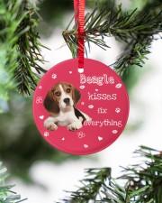 LIMITED EDITION - DOG BEAGLE 90155A Circle ornament - single (porcelain) aos-circle-ornament-single-porcelain-lifestyles-07