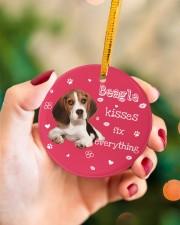 LIMITED EDITION - DOG BEAGLE 90155A Circle ornament - single (porcelain) aos-circle-ornament-single-porcelain-lifestyles-09