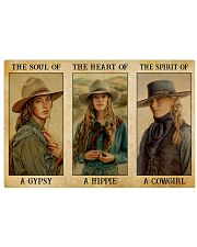 LIMITED EDITION - COWGIRL - POS80349TU 17x11 Poster front