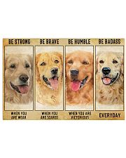 LIMITED EDITION - golden retriever - POS11212TU 17x11 Poster front
