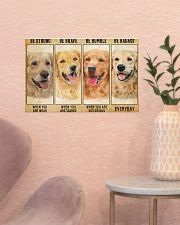 LIMITED EDITION - golden retriever - POS11212TU 17x11 Poster poster-landscape-17x11-lifestyle-22
