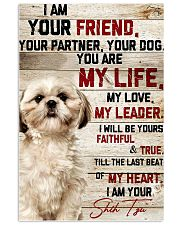 LIMITED EDITION - DOG SHIH TZU LOVERS 10976A 11x17 Poster front