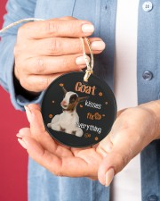 LIMITED EDITION - FUNNY GOAT 90100A Circle ornament - single (porcelain) aos-circle-ornament-single-porcelain-lifestyles-01
