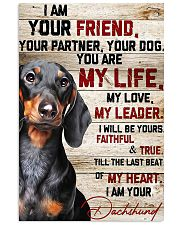 LIMITED EDITION - DOG DACHSHUND LOVERS 90131A 11x17 Poster front