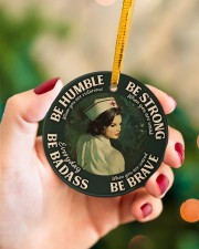 LIMITED EDITION - BE STRONG - 10929TU Circle ornament - single (porcelain) aos-circle-ornament-single-porcelain-lifestyles-09
