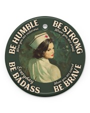 LIMITED EDITION - BE STRONG - 10929TU Circle ornament - single (porcelain) front
