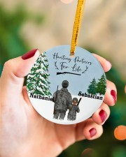 LIMITED EDITION - FATHER AND SON - 90096TU Circle ornament - single (porcelain) aos-circle-ornament-single-porcelain-lifestyles-09