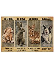 LIMITED EDITION - FARMER RABIT LOVERS - 80203P 17x11 Poster front