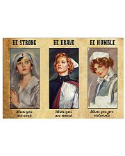 LIMITED EDITION - NURSES - 90185TU 17x11 Poster front