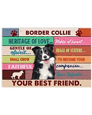 LIMITED EDITION - DOG BORDER COLLIE 11004A 17x11 Poster front