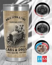 LIMITED EDITION - BOY AND CARS - 90109TU 20oz Tumbler aos-20oz-tumbler-lifestyle-front-45