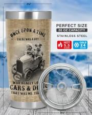 LIMITED EDITION - BOY AND CARS - 90109TU 20oz Tumbler aos-20oz-tumbler-lifestyle-front-49