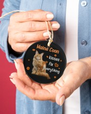 LIMITED EDITION - CAT LOVERS 10937A Circle ornament - single (porcelain) aos-circle-ornament-single-porcelain-lifestyles-01