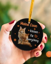 LIMITED EDITION - CAT LOVERS 10937A Circle ornament - single (porcelain) aos-circle-ornament-single-porcelain-lifestyles-09