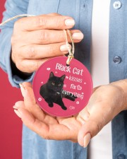 LIMITED EDITION - BLACK CAT 90049AA Circle ornament - single (porcelain) aos-circle-ornament-single-porcelain-lifestyles-01