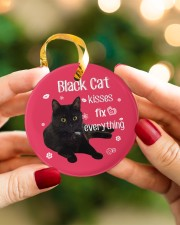 LIMITED EDITION - BLACK CAT 90049AA Circle ornament - single (porcelain) aos-circle-ornament-single-porcelain-lifestyles-08