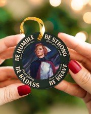LIMITED EDITION - BE STRONG - 60005TU Circle ornament - single (porcelain) aos-circle-ornament-single-porcelain-lifestyles-08