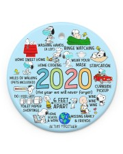 LIMITED EDITION - CHRISTMAS - 80245P Circle ornament - single (porcelain) front