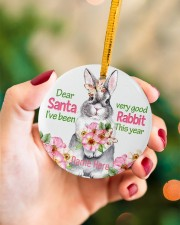 LIMITED EDITION - RABBIT LOVERS - 80224P Circle ornament - single (porcelain) aos-circle-ornament-single-porcelain-lifestyles-09