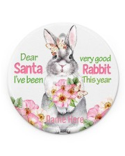LIMITED EDITION - RABBIT LOVERS - 80224P Circle ornament - single (porcelain) front