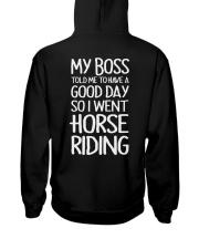 HORSE HORSE Hooded Sweatshirt back