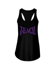 TEACHER TEACHER TEACHER TEACHER Ladies Flowy Tank thumbnail