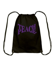 TEACHER TEACHER TEACHER TEACHER Drawstring Bag thumbnail
