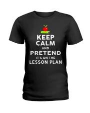 TEACHER TEACHER TEACHER TEACHER Ladies T-Shirt thumbnail