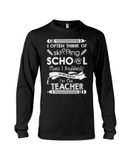 TEACHER TEACHER TEACHER TEACHER Long Sleeve Tee thumbnail
