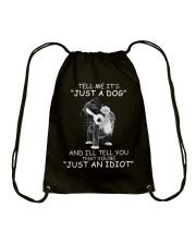 It's NOT just a dog Drawstring Bag thumbnail
