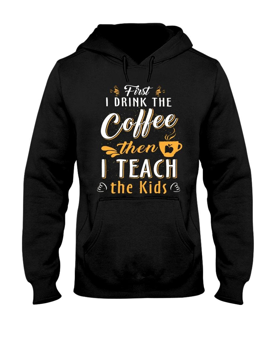 TEACHER TEACHER TEACHER TEACHER Hooded Sweatshirt