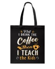 TEACHER TEACHER TEACHER TEACHER Tote Bag thumbnail