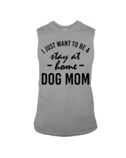 I Just Want to be a stay at home dog mom Sleeveless Tee thumbnail