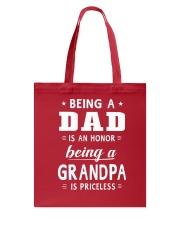GRANDPA GRANDPA GRANDPA Tote Bag front