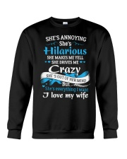 HUSBAND HUSBAND HUSBAND Crewneck Sweatshirt thumbnail