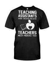 TEACHER TEACHER TEACHER TEACHER Classic T-Shirt thumbnail